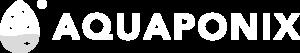 aquaponix logo bianco